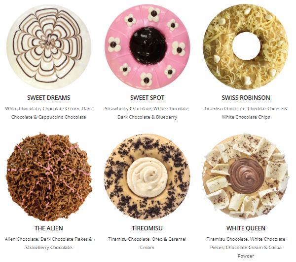 Big Apple Donuts & Coffee : Sungei Wang Plaza